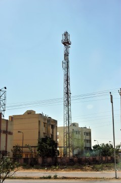 Cell phone towers everywhere
