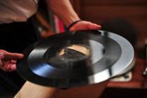 Oversized vintage record