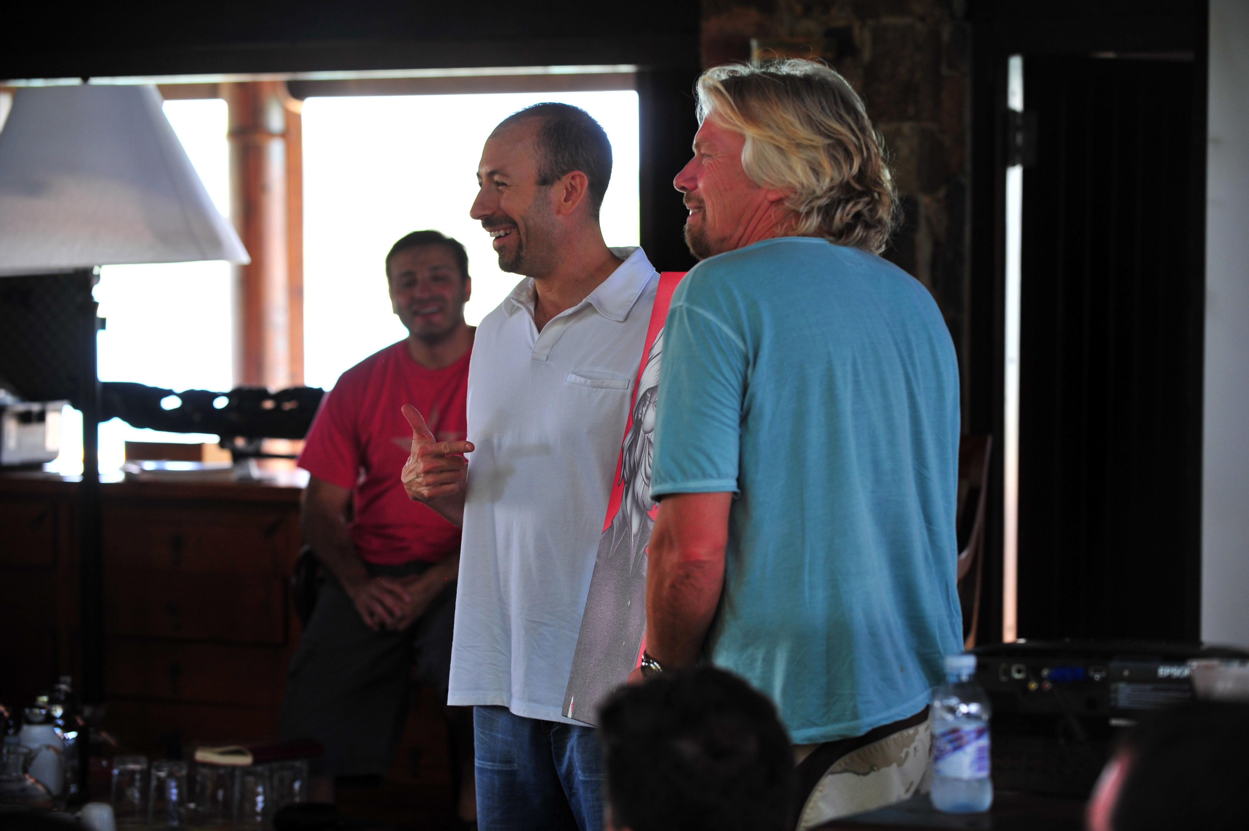 Yanik Silver, Joe Polish, Richard Branson
