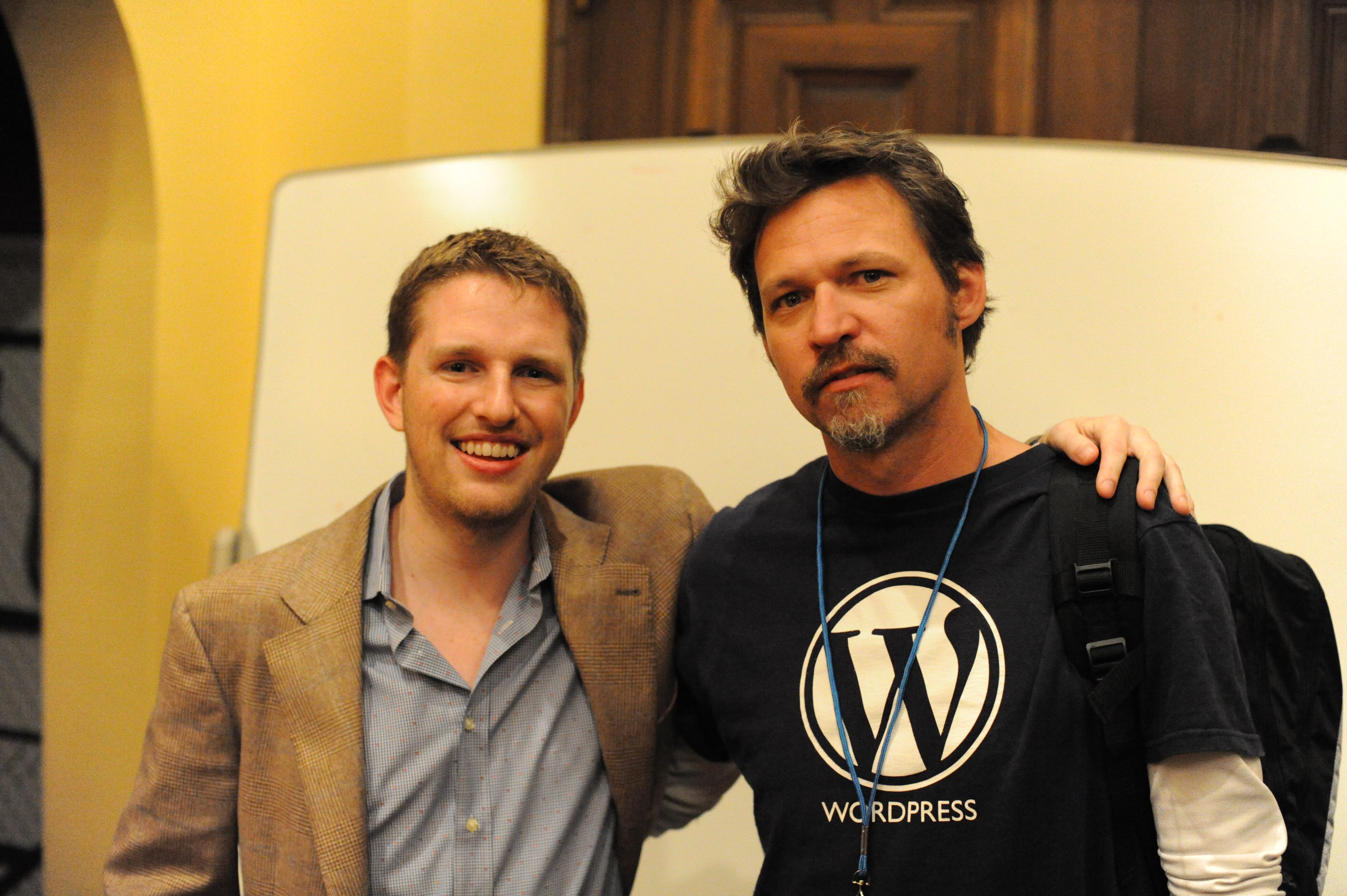 Matt Mullenweg, Michael Bishop