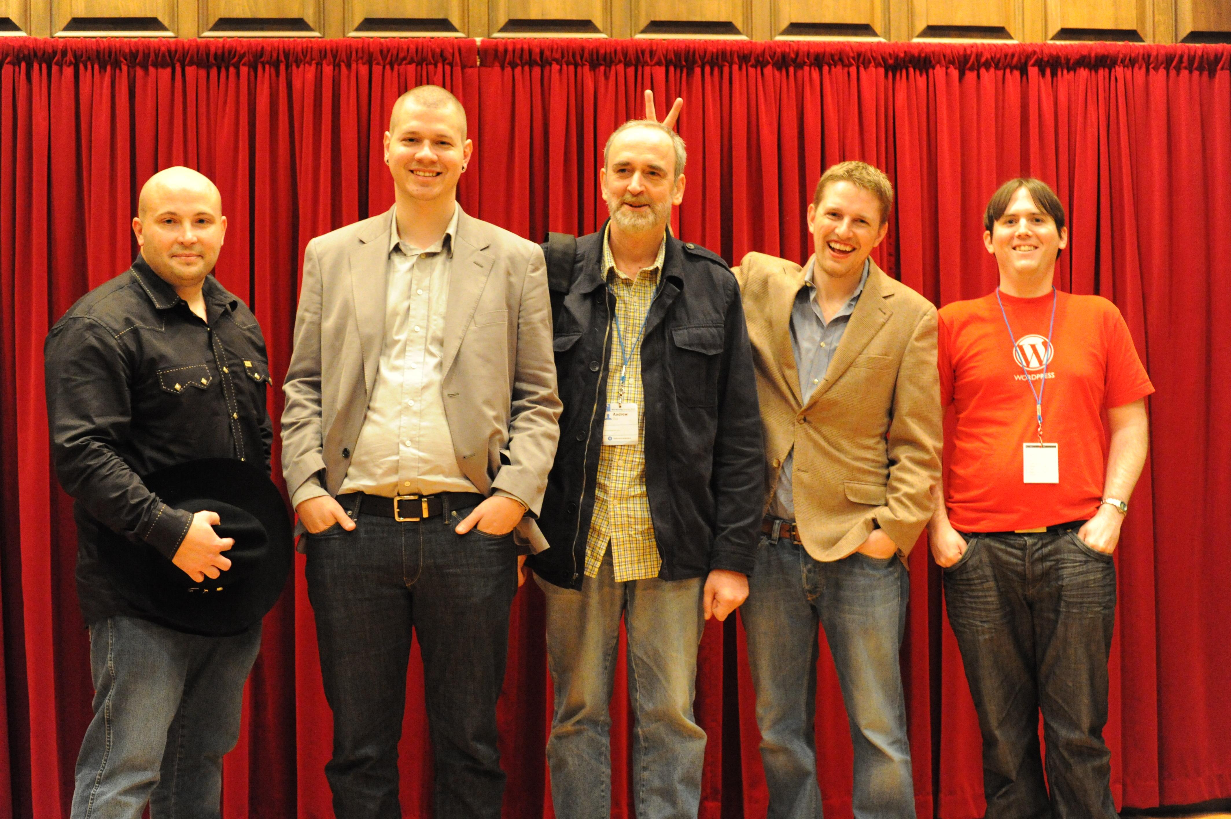 Matt Mullenweg, Ryan Boren, Mark Jaquith, Andrew Ozz, Peter Westwood2 Comments
