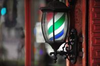 Barber shop lamp