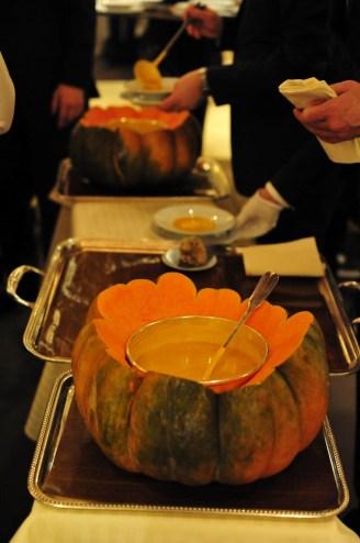 Soupe de potiron à la truffe blanche d'Alba