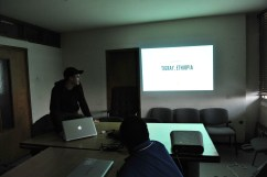 Scott gives opening presentation