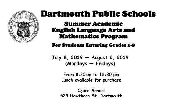 Dartmouth Public Schools / Homepage