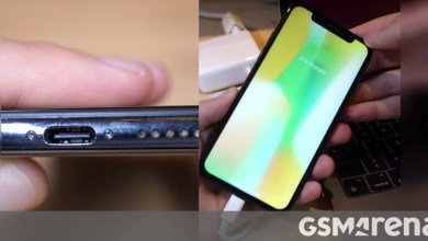Photo of iPhone X outfitted with working USB-C port in spectacular DIY project