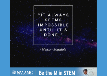 It always sesms impossible until it's done. Nelson Mandela.