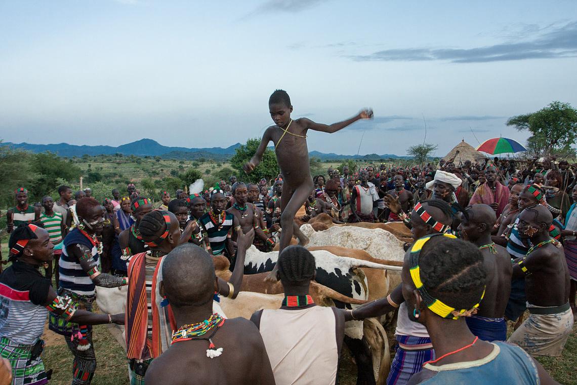 Bull Jumping, Ethiopia