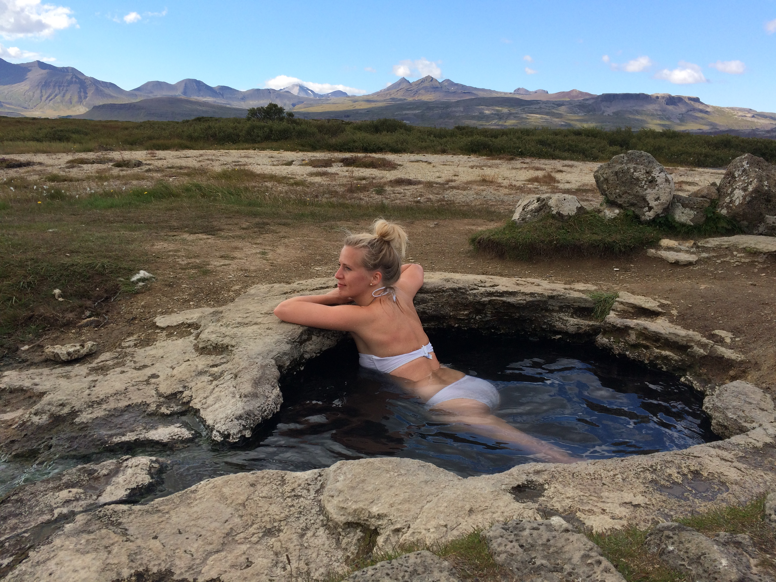 IJsland rondreis blogpost warmwaterbron hot spring