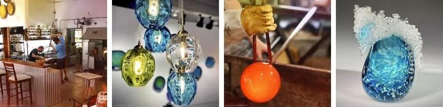 Makawao glassblowing