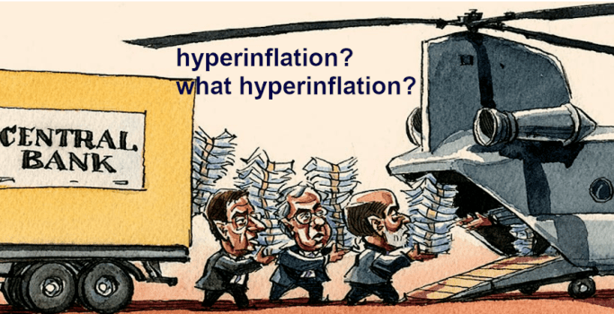 is hyperinflation coming for the US dollar?