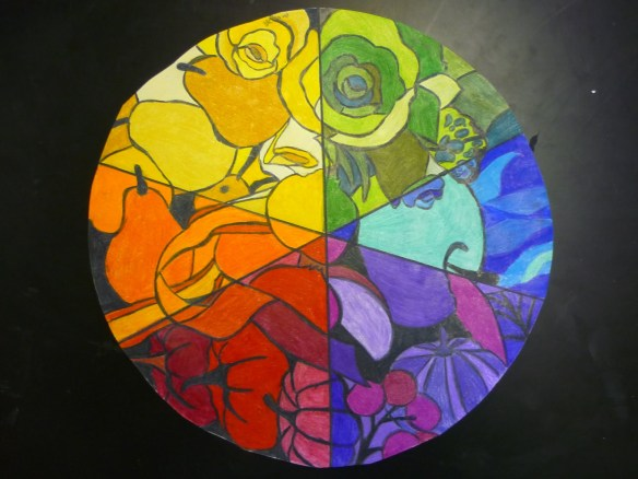 Mrs Highsmith color wheel