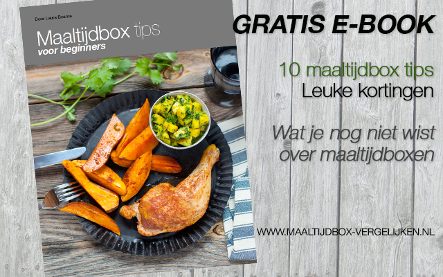 Gratis Ebook - Maaltijdbox Tips voor beginners.