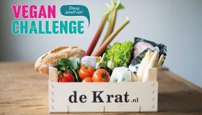 vegan challenge De Krat