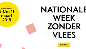 De nationale week zonder vlees