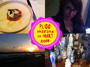 Vorig jaar gingen J. en ik uit eten bij Villa Copera!