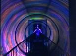 Binne-in 'n kaleidoskoop, by Ripley's Believe it or not in San Francisco- 'n Skrikwekkende ervaring!