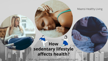 How sedentary lifestyle affects health of a person globally
