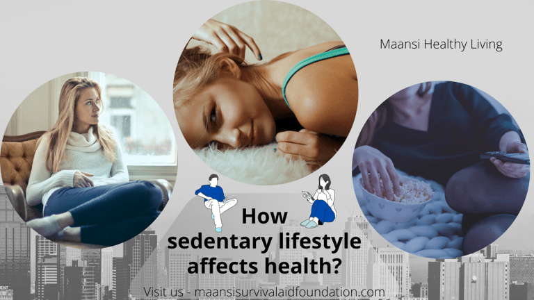 How sedentary lifestyle affects people's health globally?