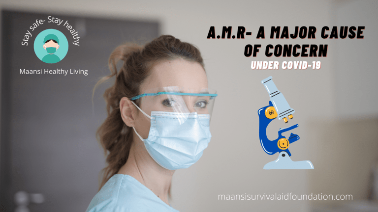 A.M.R.- A Major Cause of Concern under Covid-19.
