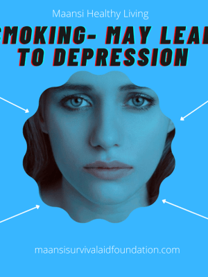 Smoking may lead to depression