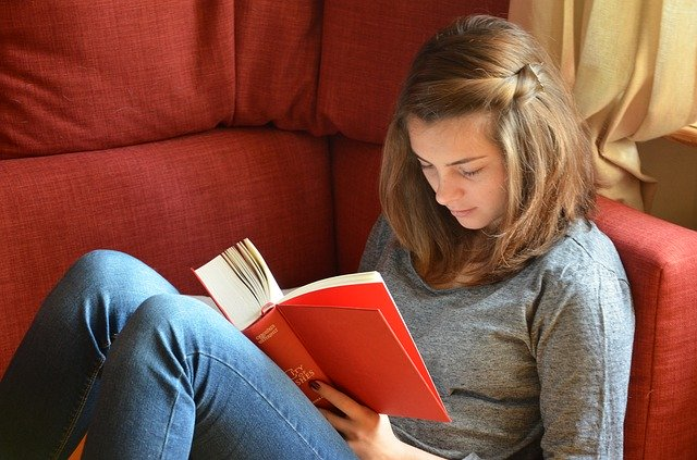 Adopting reading habits before going to bed may help to get quality sleep