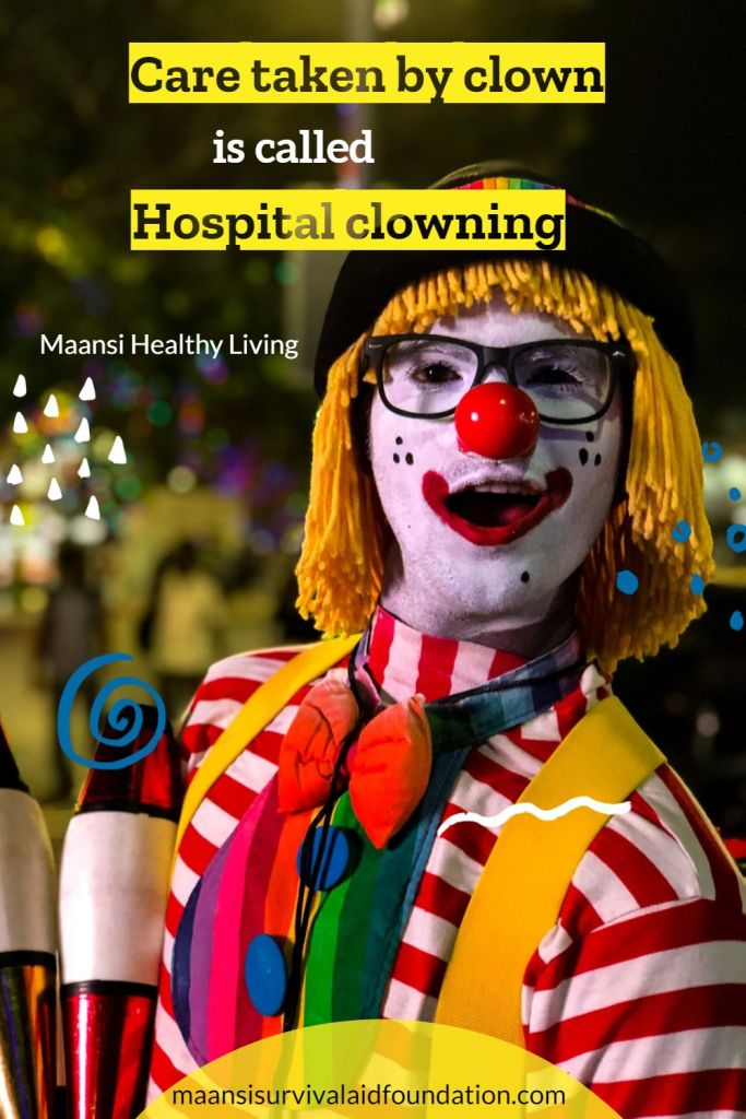 Role of Hospital clowns