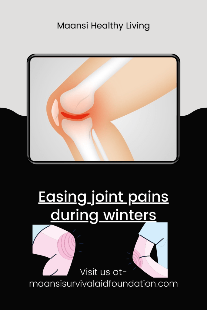 Easing joint pains during winters- Possible reasons for joint pain