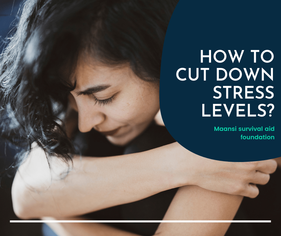 How to cut down stress levels