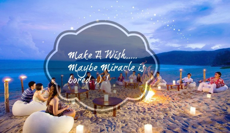 Make A Wish, Maybe Miracle Is Bored !