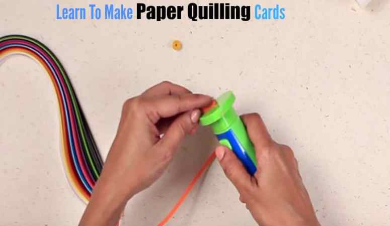 Learn To Make Paper Quilling Card This Festive Season