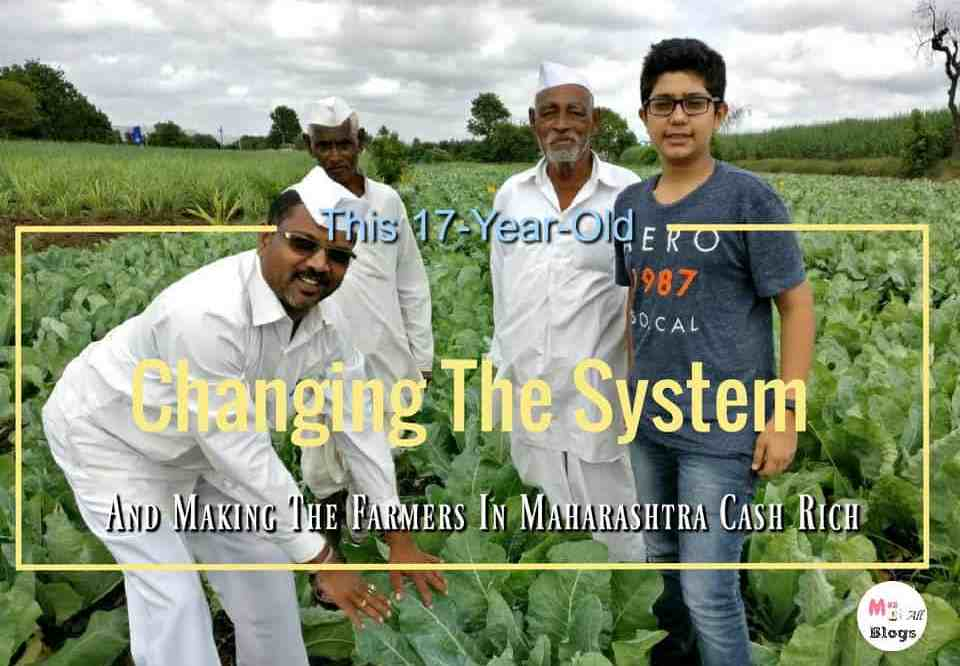 This 17-year-old Is Changing The System And Making Farmers In Maharashtra Cash Rich Through Fayda Farm