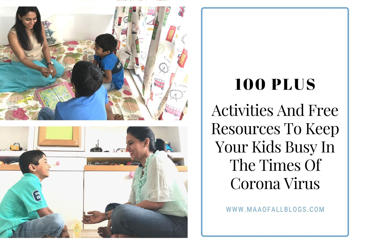 100 Plus Kids Activities And Free Resources To Keep Your Kids Busy In The Times Of Corona Virus