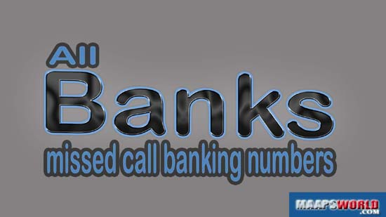 all bank balance enquiry number