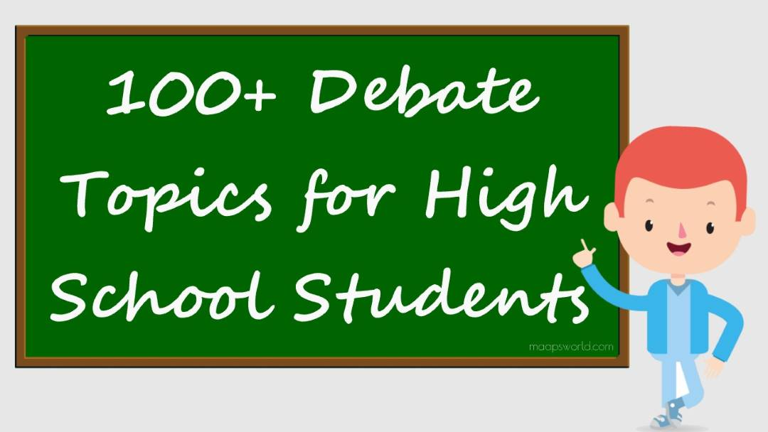 debate topics for high school