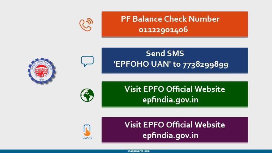 PF Balance Check