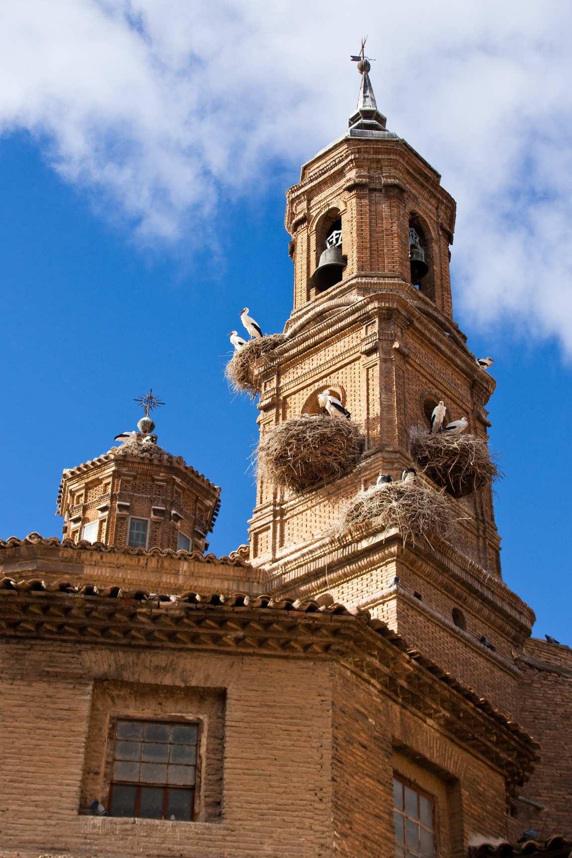 Cigüeñas_en_el_campanario_de_la_iglesia_de_San_Jorge_el_Real_de_Tudela