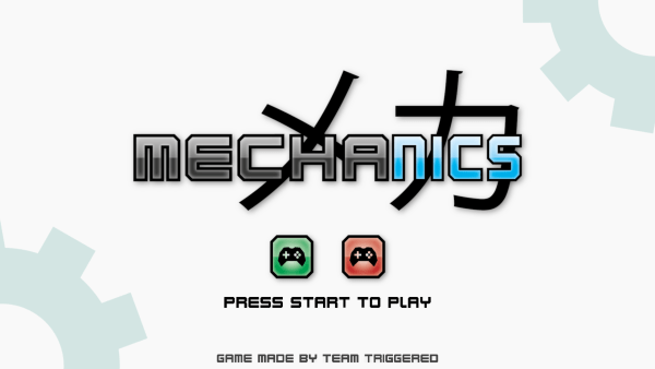 Mechanics Title Screen