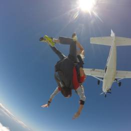 Sky dive Mission Beach