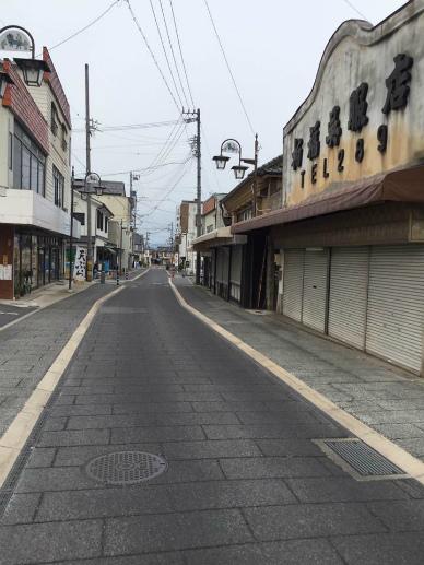 須坂蔵の街並み
