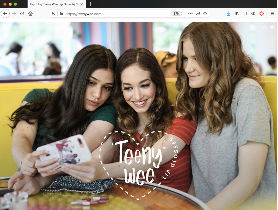 Teeny Wee - Shopify Website - Maas Creative Services