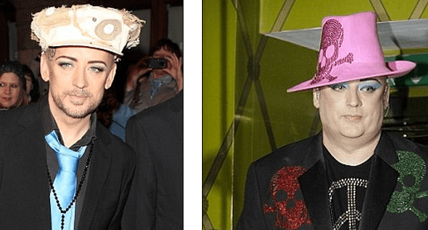 http://www.dailymail.co.uk/tvshowbiz/article-2280275/Boy-George-shows-weight-loss-Whatsonstage-com-Awards.html