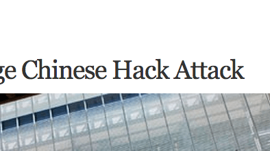 http://abcnews.go.com/Blotter/york-times-alleges-chinese-hack-attack/story?id=18365205
