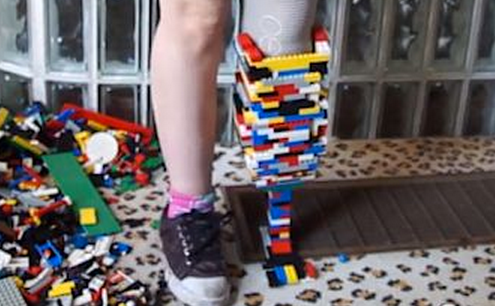 http://abcnews.go.com/blogs/health/2013/07/03/woman-builds-legoleg-prosthetic/