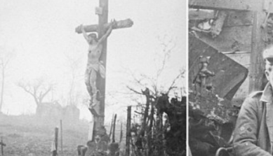 http://www.dailymail.co.uk/news/article-2576335/How-Germany-crucified-Hidden-100-years-astonishing-images-German-soldiers-haunted-spectre-defeat-paying-ultimate-price-captured-camera-one-brothers-arms.html