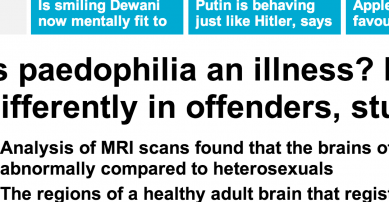 http://www.dailymail.co.uk/sciencetech/article-2634045/Is-paedophilia-illness-Brains-wired-differently-offenders-study-claims.html