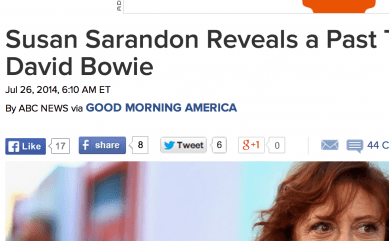 http://abcnews.go.com/Entertainment/susan-sarandon-reveals-past-tryst-david-bowie/story?id=24720259