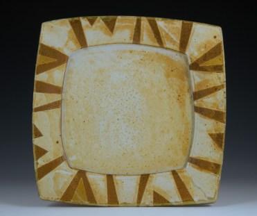 Square Platter - MaashaClay Tableware