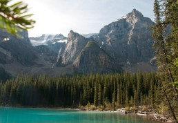Classic -- Moraine Lake at the Valley of Ten Peaks