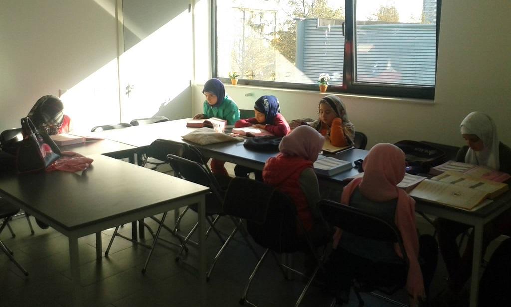 Yeni Camii godsdienstonderwijs 2